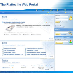 The Platteville Web Portal
